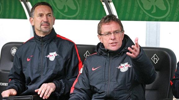 Achim Beierlorzer und Ralf Rangnick
