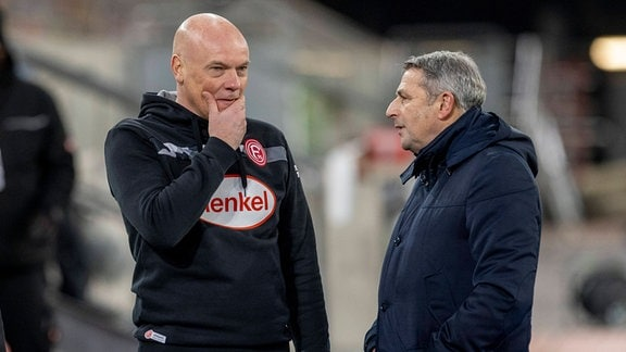 Klaus Allofs und Uwe Rösler