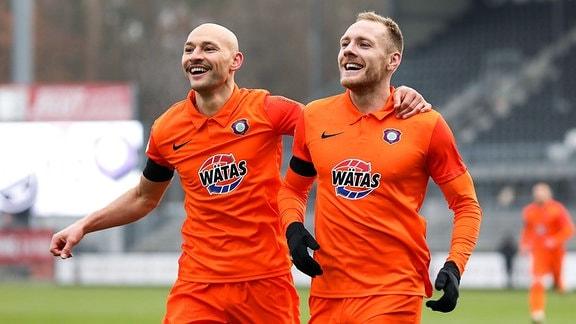 Ben Zolinski (FC Erzgebirge Aue), Philipp Riese