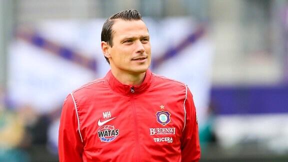 Aue-Trainer Marc Hensel