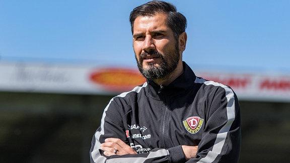 Dynamos Cheftrainer Cristian Fiel