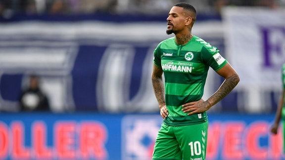 Daniel Keita-Ruel vom SpVgg Greuther Fürth ist enttäuscht