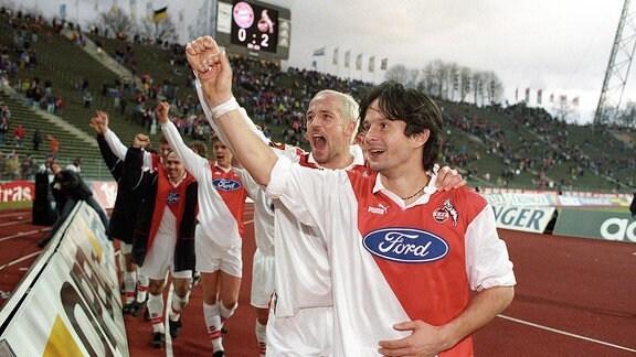 Dirk Schuster (re.) und Karsten Baumann