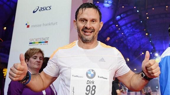 Dirk Schuster beim Marathon