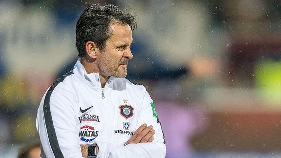 Dirk Schuster, Cheftrainer FC Erzgebirge Aue.