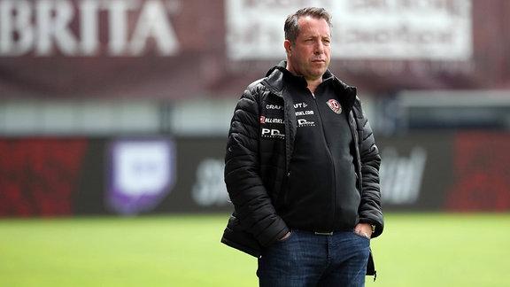 Trainer Markus Kauczinsk, SG Dynamo Dresden