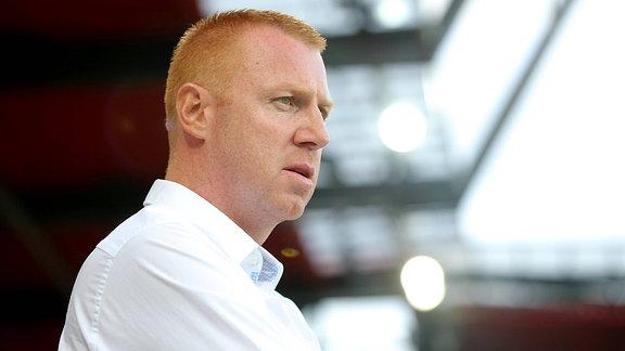 Trainer Maik Walpurgis (SG Dynamo Dresden)