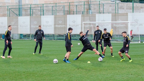 Dynamo Dresden im Trainingslager in Belek (TUR)
