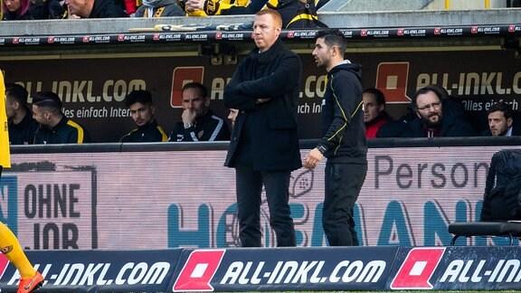 Maik Walpurgis (Trainer Dynamo Dresden)
