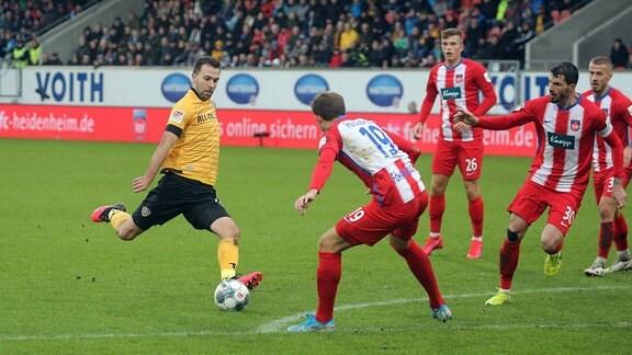 Josef Husbauer Dynamo Dresden, Jonas Föhrenbach 1. FC Heidenheim