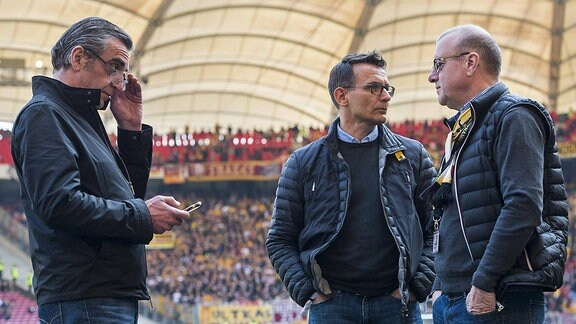 Ralf Minge, Michael Born und Andreas Ritter