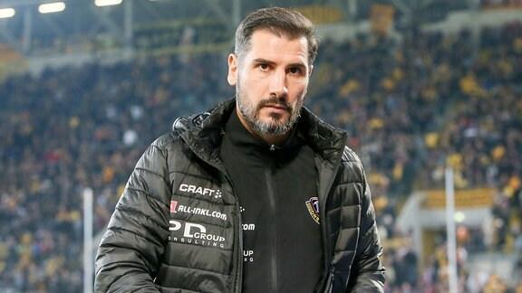 Trainer Christian Fiel Dresden