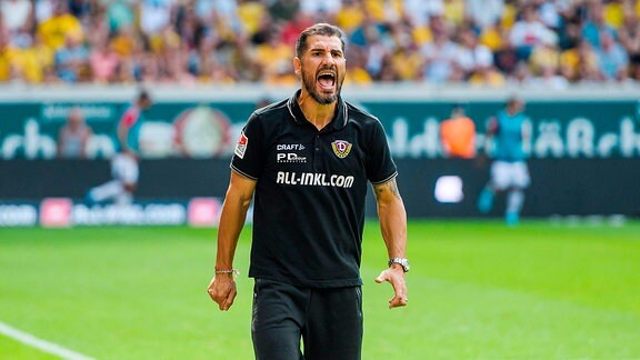 Dresdens Cheftrainer Cristian Fiel
