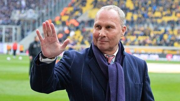Helge Leonhardt Praesident, FC Erzgebirge Aue