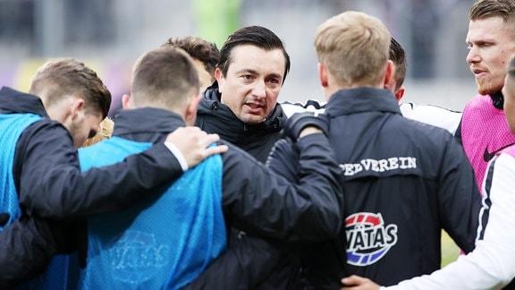 Trainer beschwört seine Mannschaft