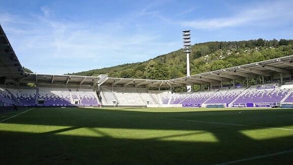 Das Erzgebirgsstadion in Aue