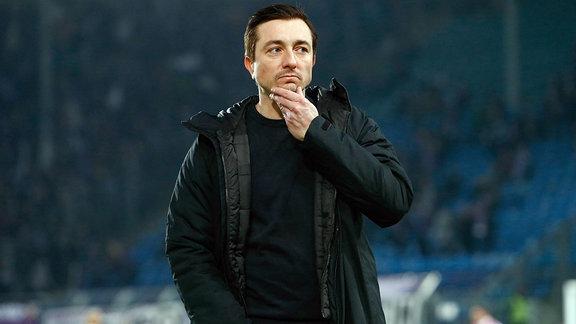 Daniel Meyer, Erzgebirge Aue, Trainer