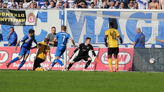1. FC Magdeburg gegen Dynamo Dresden
