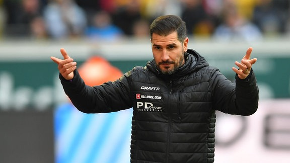 Cristian Fiel (Ex-Trainer Dynamo Dresden)
