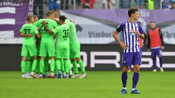 FC Erzgebirge Aue vs.SV Sandhausen