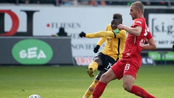 Kone (Dynamo, 14), Beermann (FCH, 33)