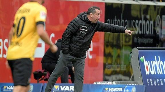 Dynamo-Cheftrainer Markus Kauczinski