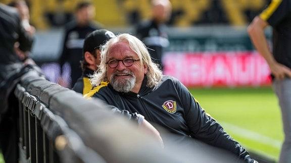 Dresdens Co-Trainer Heiko Scholz SG Dynamo Dresden