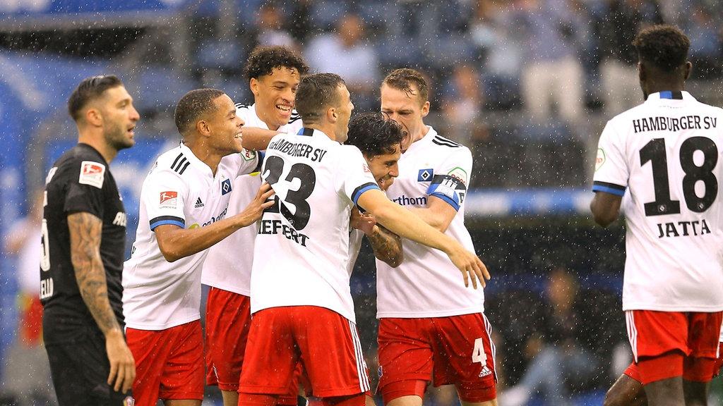 2 Bundesliga Dynamo Dresden Punktet Auch Beim Hamburger Sv Mdr De
