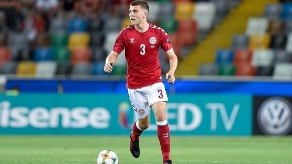 Jacob Rasmussen (im Dress der U21 von Dänemark)