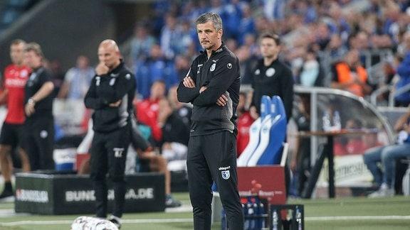 Jens Härtel (Trainer 1. FC Magdeburg)