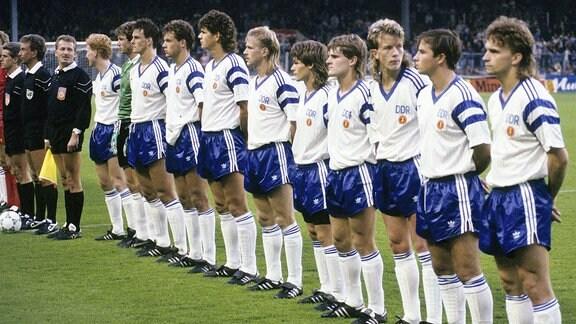 Fußballnationalmannschaft der Deutschen Demokratischen Republik.