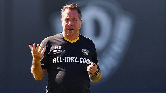 Trainer Markus Kauczinski, SG Dynamo Dresden,