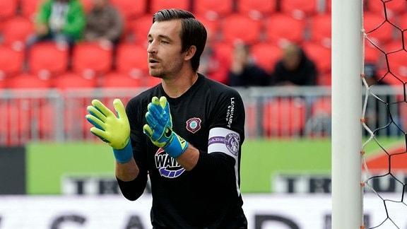 Martin Männel - Torwart, (FC Erzgebirge Aue)