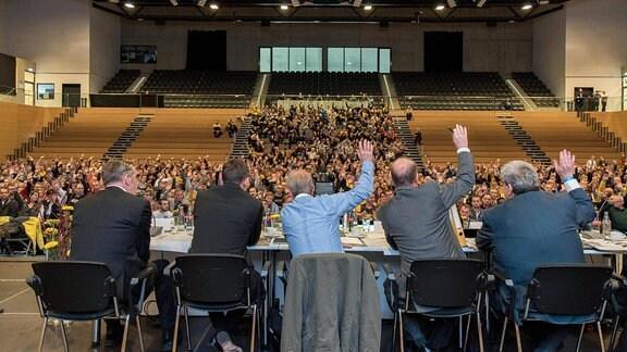 Mitgliederversammlung von Dynamo Dresden. (Archiv)