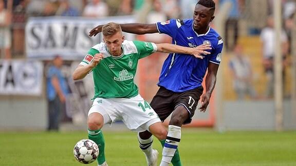 Ole Käuper gegen Prince Osei Owusu