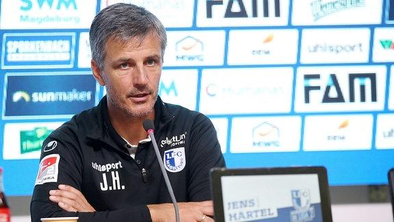 Cheftrainer Jens Härtel (Magdeburg)