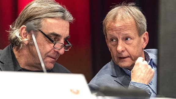 Ralf Minge und Jens Heinig