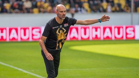 Dresdens Cheftrainer Alexander Schmidt