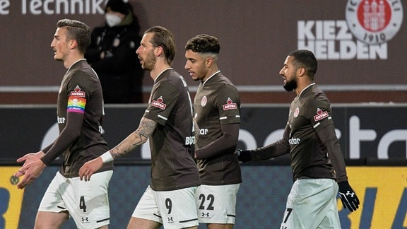 Philipp Ziereis, Guido Burgstaller, Omar Marmoush, Torschütze Daniel-Kofi Kyereh