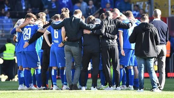1. FC Magdeburg, Magdeburg, Enttäuschung nach Abpfiff