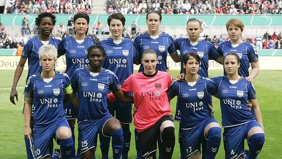 FF USV Jena Mannschaftsbild
