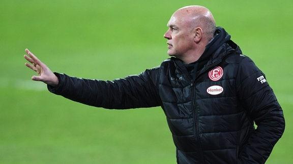 Uwe Rösler (Trainer Fortuna Düsseldorf)