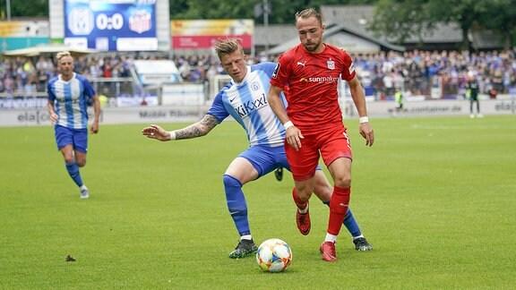 Marcus Piossek (SV Meppen 11) vs Fabio Viteritti (FSV Zwickau 11)