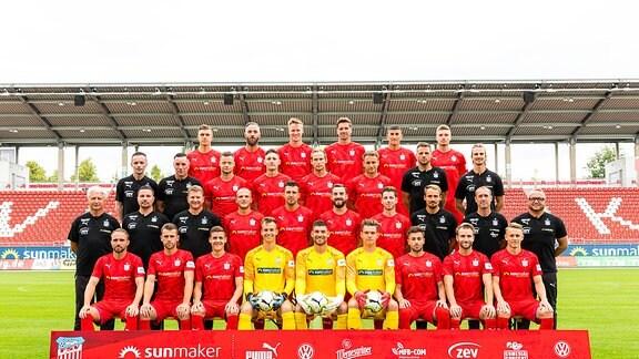 FSV Zwickau Teamfoto