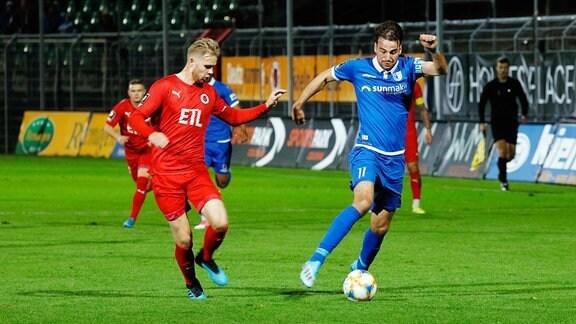 Lars Dietz gegen Christian Beck
