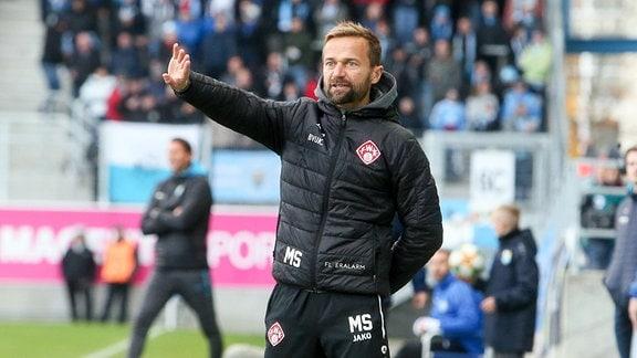 Trainer Michael Schiele, FC Würzburger Kickers