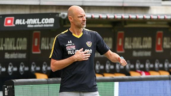 Trainer Alexander Schmidt (Dynamo Dresden)