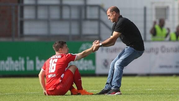 Anthony Barylla (FSV Zwickau), Joe Enochs (FSV Zwickau)