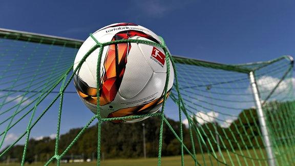 Ein  Ball im Tornetz