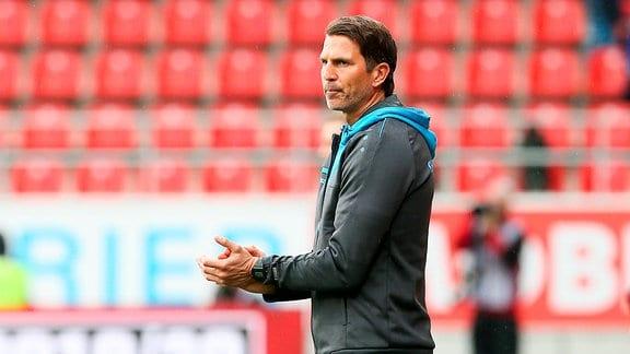 Trainer Patrick Glöckner / Gloeckner (Chemnitz)